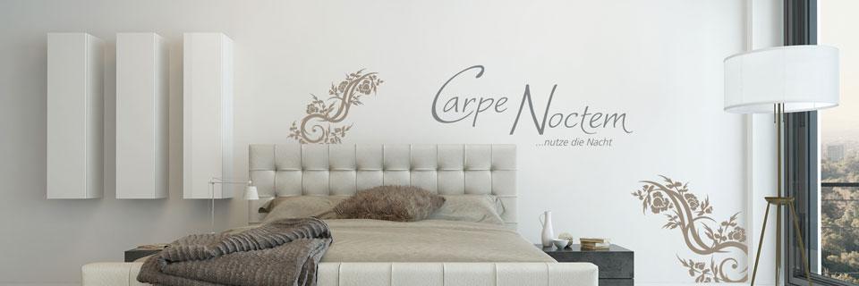 Carpe Noctem Und Motiv Als Gestaltungsidee Für Schlafzimmer