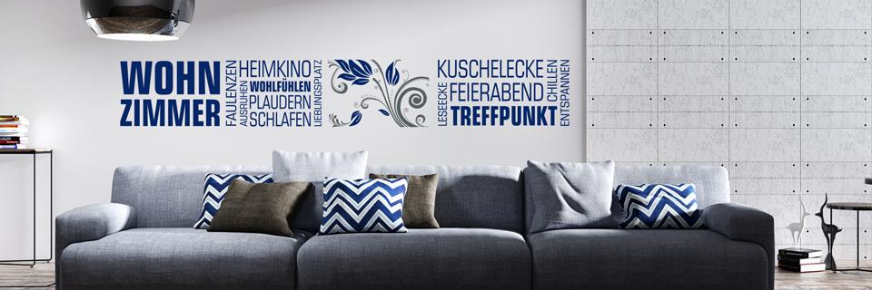 Tipps & Ideen zur Wandgestaltung im Wohnzimmer