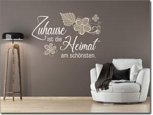wandtattoo spr che ohne versandkosten in deutschland. Black Bedroom Furniture Sets. Home Design Ideas