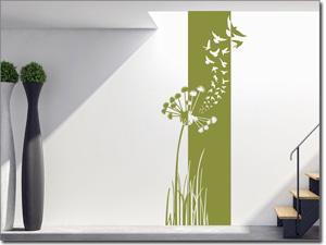 Wandtattoo Wandbanner Mit Pflanzenmotiven