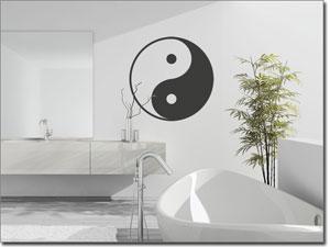 Lifestyle wandtattoos versandkostenfrei in deutschland for Yin yang raumgestaltung