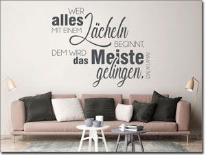 Wandtattoos zur Motivation