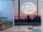 Preview: Glasdekorfolie My Spa