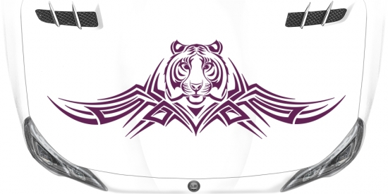 Car Vinyl Tiger Tribal