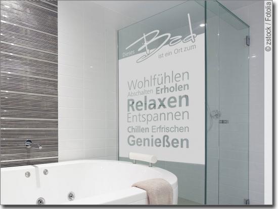 Fensterfolie und Sichtschutzfolie für Bad | Maßanfertigung