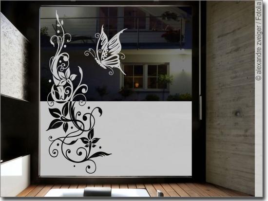 sichtschutzfolie mit ornamenten f r fenster glas. Black Bedroom Furniture Sets. Home Design Ideas