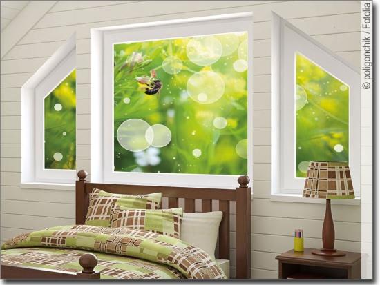 fensterbilder mit tiermotiven passgenaue fotofolie. Black Bedroom Furniture Sets. Home Design Ideas