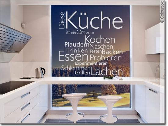 Fensterfolie Küche glastattoo kaffee, fensterfolie für küche | onlineshop