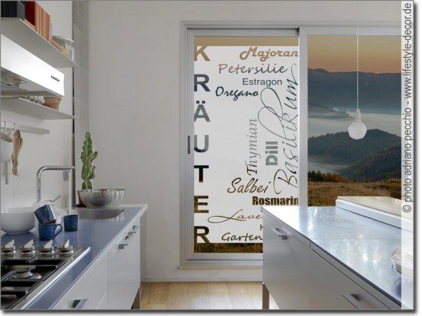 Fensterfolie Küche fensterfolie als sichtschutz für küche | maßanfertigung
