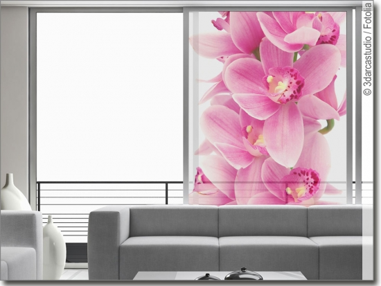 Glasdesign Orchidee