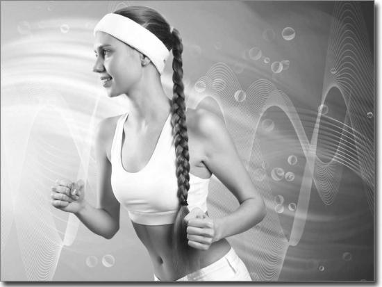 Glastattoo mit bodybuilder mit starker aussagekraft for Bedruckte klebefolie