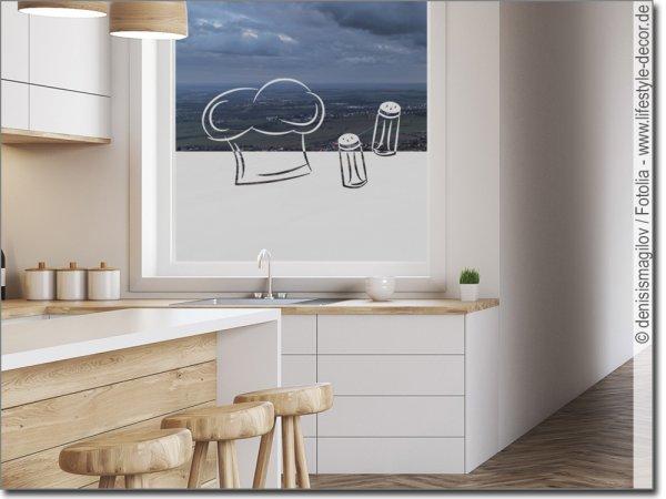 fensterfolie als sichtschutz f r k che ma anfertigung. Black Bedroom Furniture Sets. Home Design Ideas