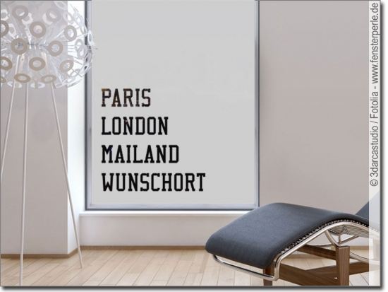 Sichtschutz Paris London Mailand