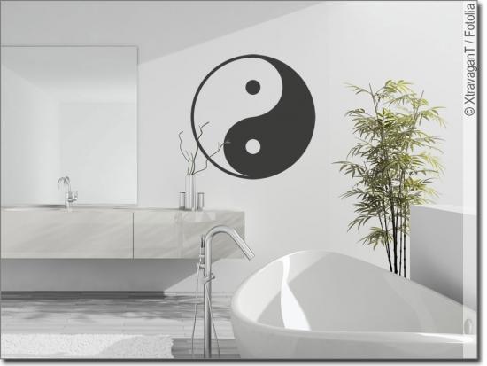 Wandaufkleber Yin U0026 Yang