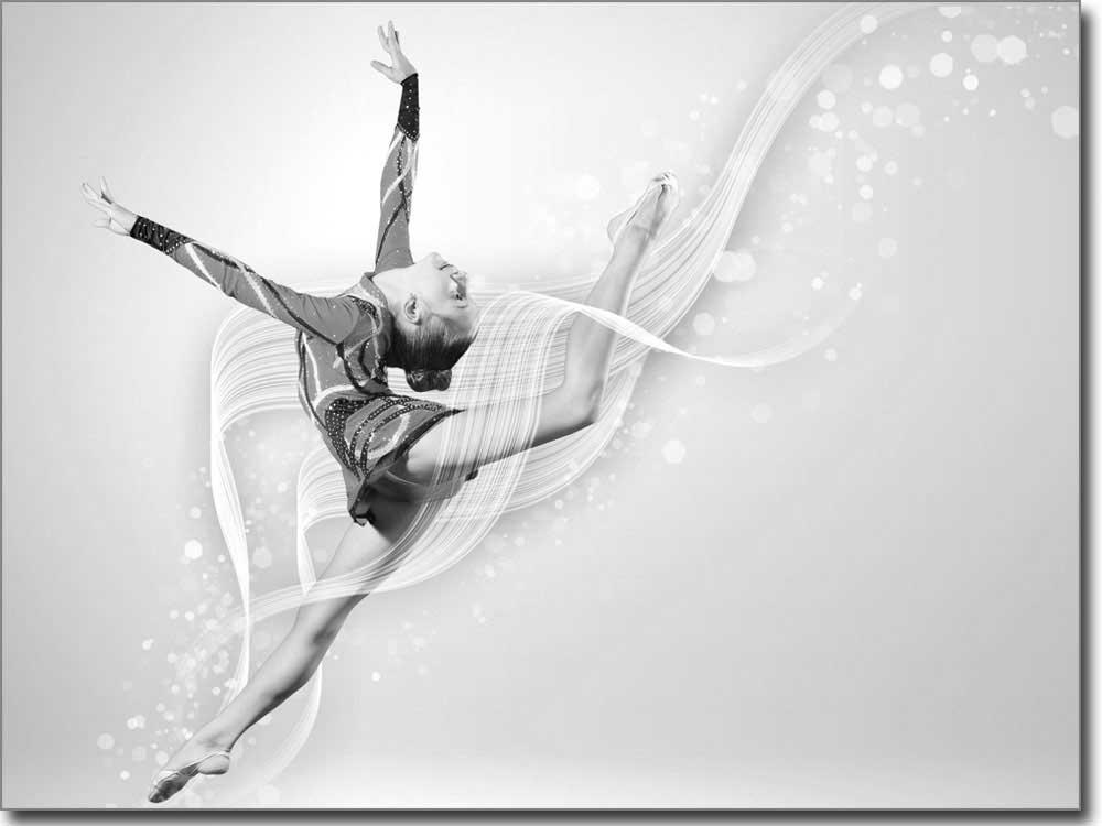 Digitaldruck nach ma mit sportakrobatik motiv for Bedruckte klebefolie