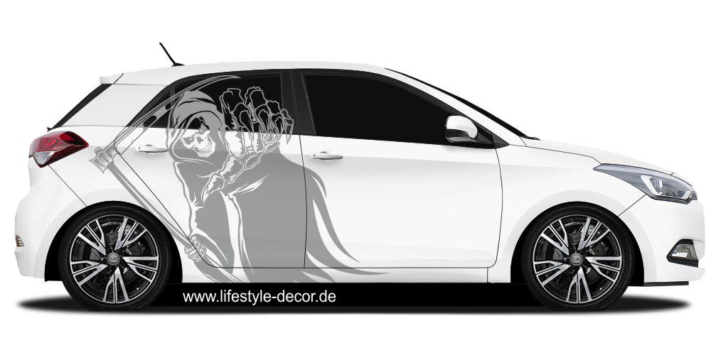 Aufkleber Für Auto Sensenmann