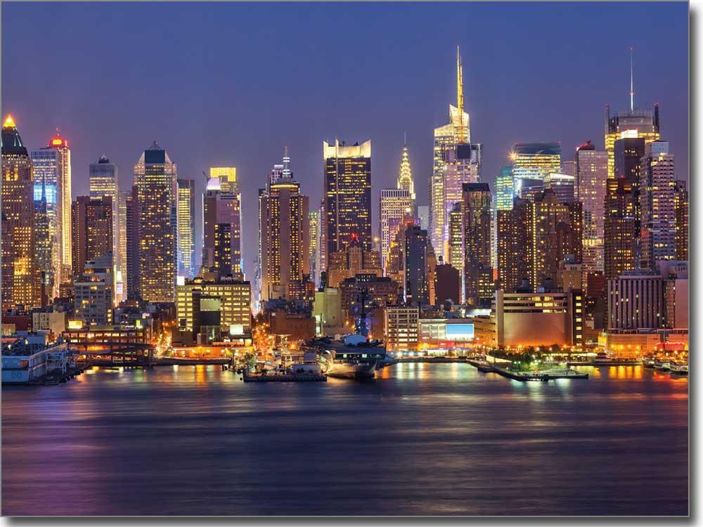 Fotofolie Mit Der Imposanten Skyline Von Ny Nach Maß