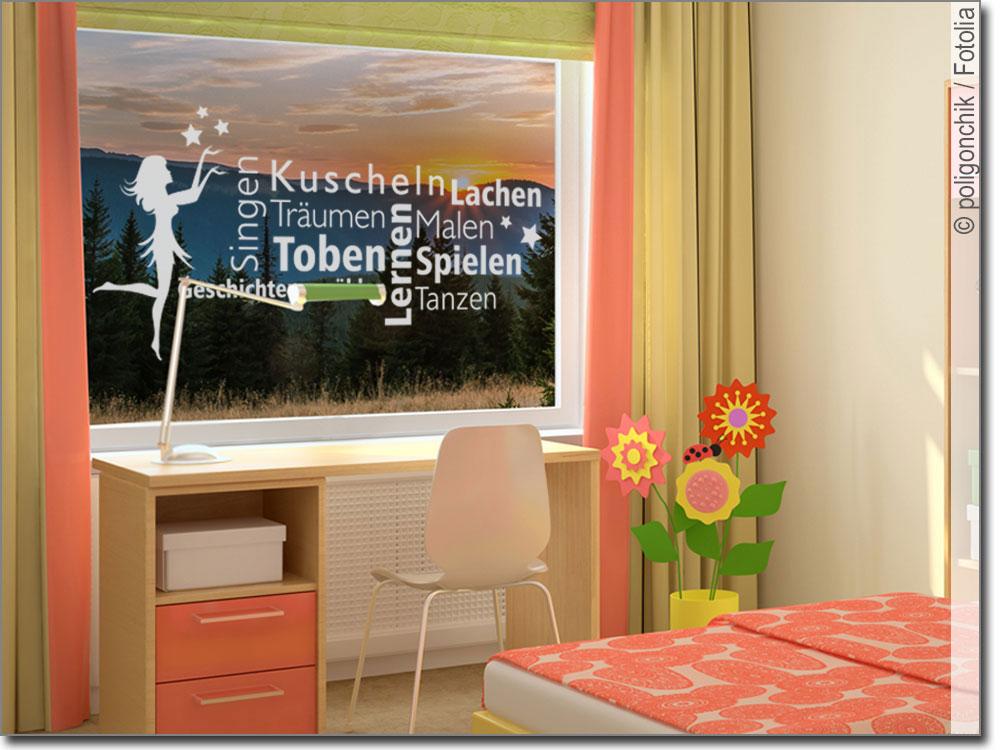 Fensterdeko Kinderzimmer