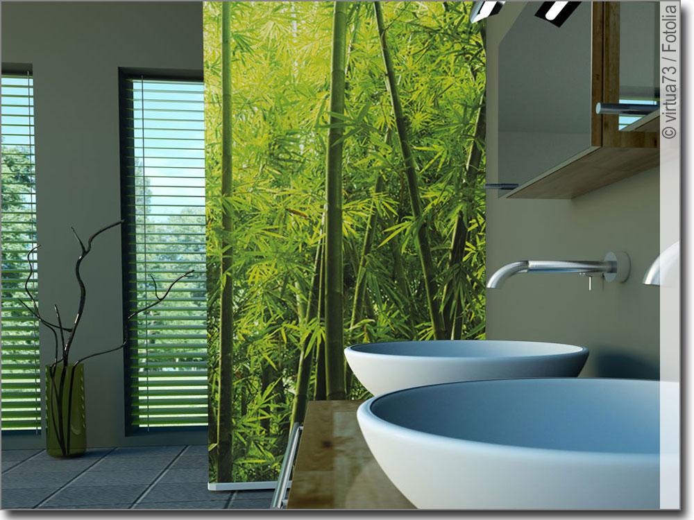 Glasdesign Dschungel | Fotodruck für Glasscheiben