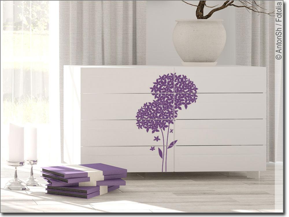Möbelaufkleber Blumendekor Möbeldekor Mit Blumen