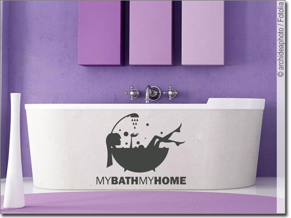 Möbeltattoo My Bath My Home