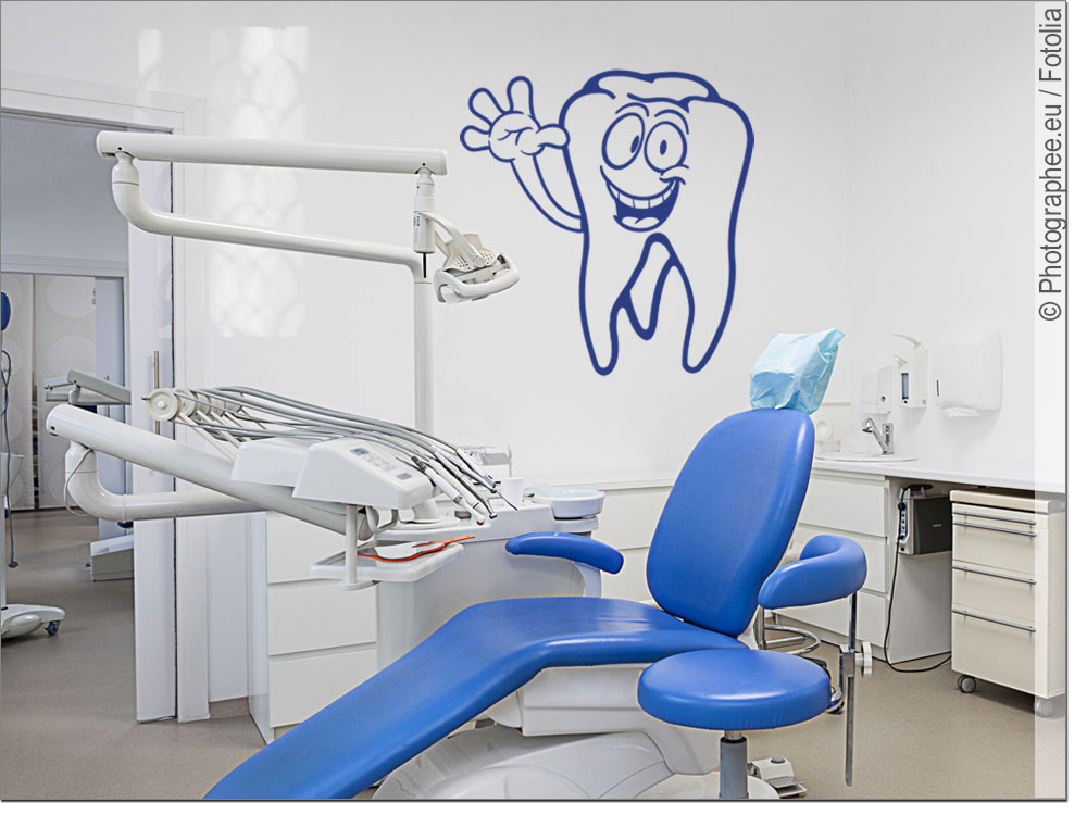 Zahn Fensterfolie - Kinderzimmer 2017