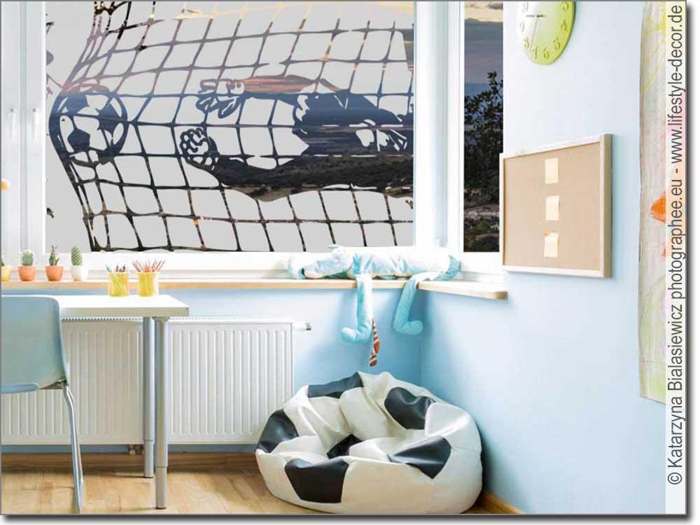 Sichtschutzfolie Fussballtor Glasfolie Als Sichtschutz