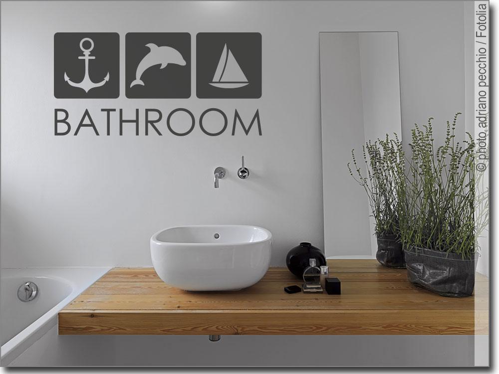 Wandtattoo Bathroom Ein Highlight in jedem Badezimmer