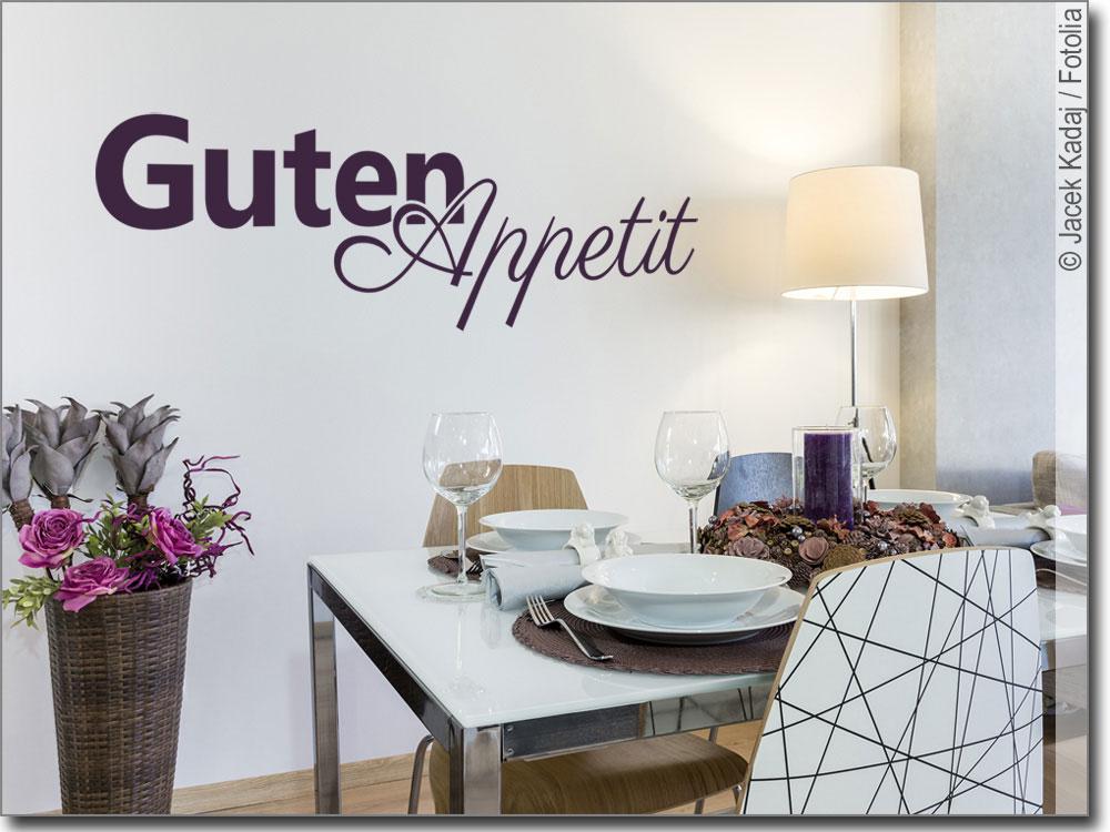 Wandtattoo Guten Appetit | für Küche oder Esszimmer