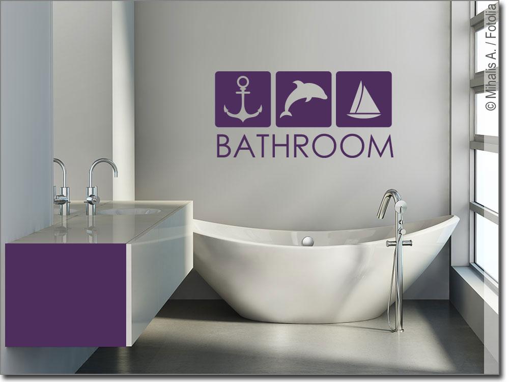 Wandtattoo Bathroom: Ein Highlight in jedem Badezimmer