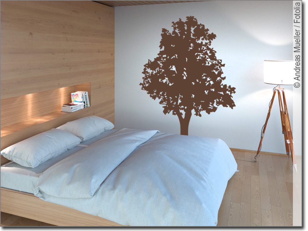 wandtattoo baum baum als aufkleber f r wohnbereich. Black Bedroom Furniture Sets. Home Design Ideas