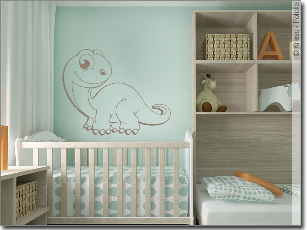 Wandaufkleber Dino Baby | Wandtattoo für Kinderzimmer