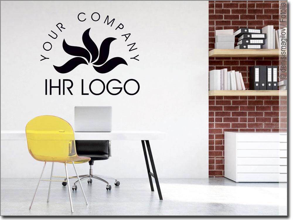 Elegant Wandtattoo Streifen Foto Von Mit Eigenem Logo