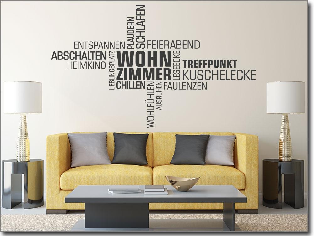 wandtattoos wohnzimmer zitate:Wandsprüche, Zitate und Worte als ...