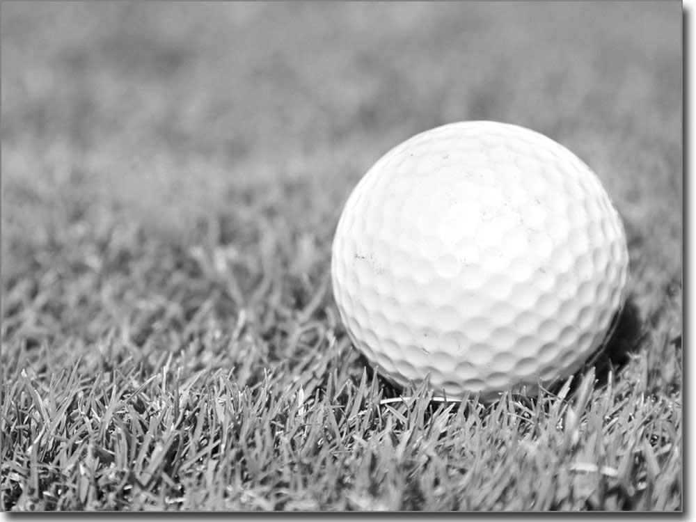 Glasprint mit tollem golf motiv auf wunschma for Bedruckte klebefolie