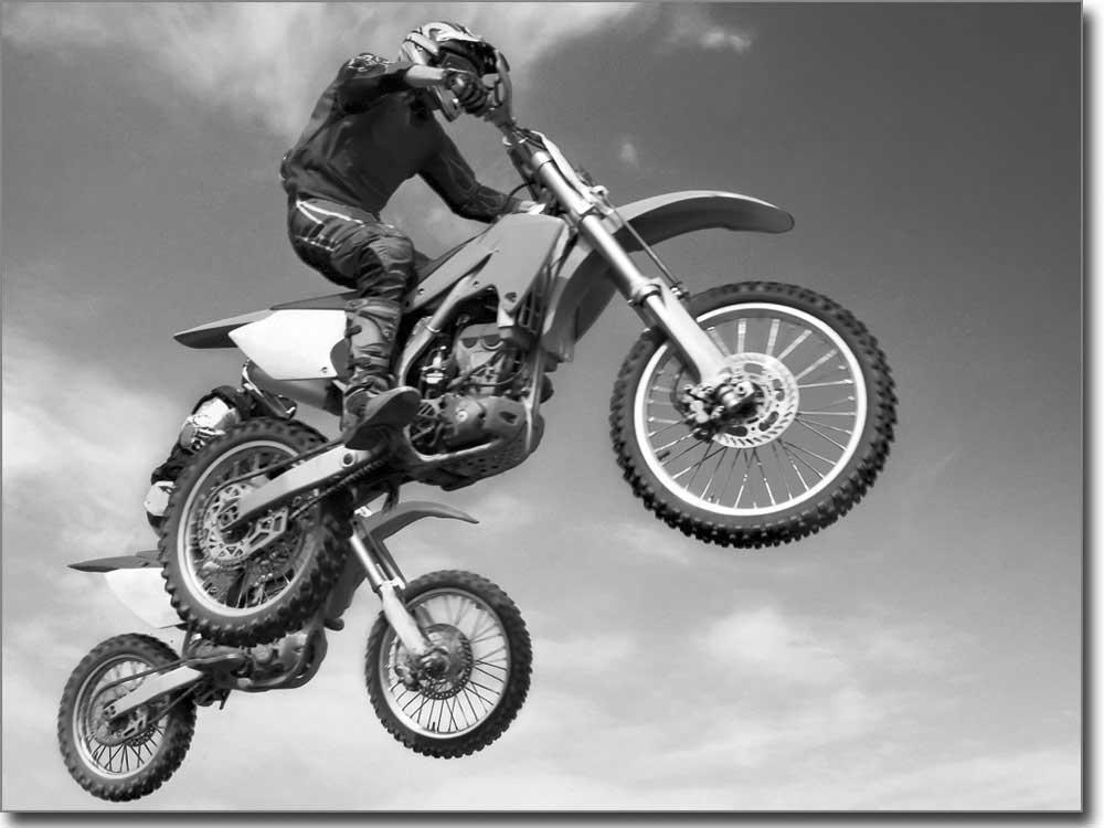 Motocross sport als passgenaue fotofolie f r glas for Bedruckte klebefolie