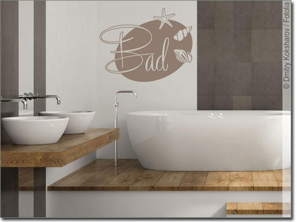 wandaufkleber bad edle schrift als wandtattoo f r bad. Black Bedroom Furniture Sets. Home Design Ideas