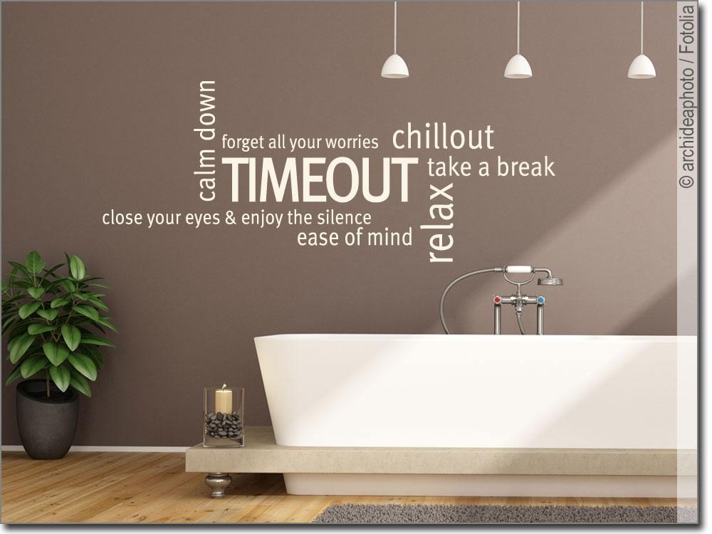 Wandtattoo Begriffe Für Badezimmer