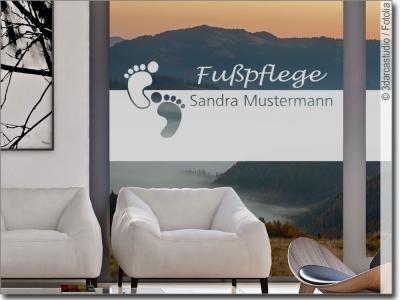 fensterfolie nach ma als sichtschutz f r gesch ftsr ume. Black Bedroom Furniture Sets. Home Design Ideas