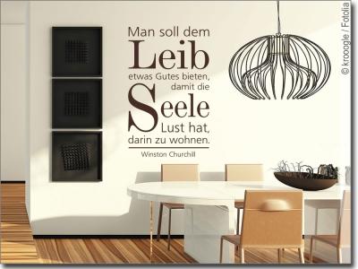 Wandtatoos für die küche  Wandtattoo Küche: Kulinarische Wandmotive und Sprüche