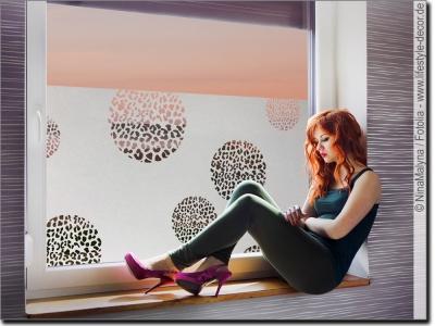 blickdichte milchglasfolien mit tiermotiven passgenau. Black Bedroom Furniture Sets. Home Design Ideas
