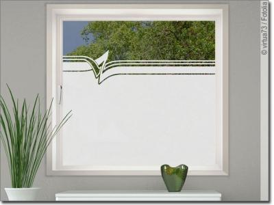 sichtschutz fensterfolie mit zeitlosen formen nach ma. Black Bedroom Furniture Sets. Home Design Ideas