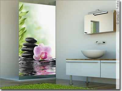 glasdesign steine glasbilder. Black Bedroom Furniture Sets. Home Design Ideas