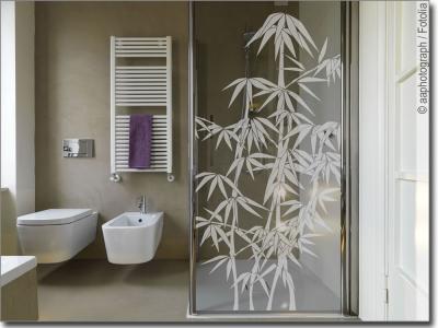 gr ser und bambus aufkleber f r fensterscheiben. Black Bedroom Furniture Sets. Home Design Ideas
