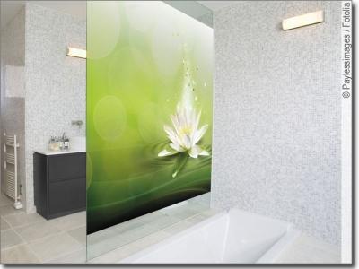 pflanzenmotive als glasprint. Black Bedroom Furniture Sets. Home Design Ideas