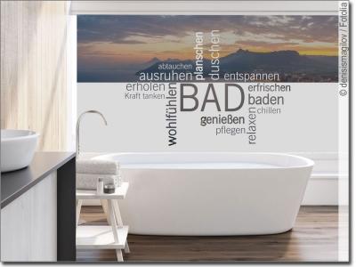 ma gefertigte fensterfolie f r badezimmer und wellness. Black Bedroom Furniture Sets. Home Design Ideas