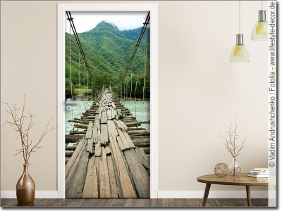 t rposter landschaften bedruckte t rfolie nach ma. Black Bedroom Furniture Sets. Home Design Ideas
