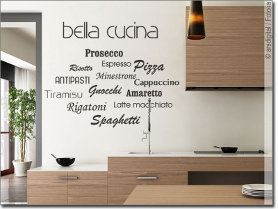 wandtattoo k che kulinarische wandmotive und spr che. Black Bedroom Furniture Sets. Home Design Ideas