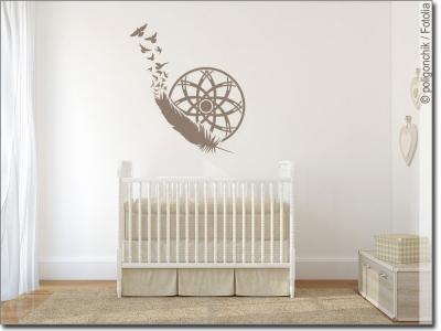 wandtattoo designs f r eine kunstvolle wandgestaltung. Black Bedroom Furniture Sets. Home Design Ideas