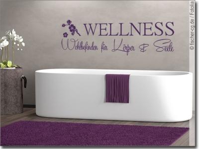 wandtattoo badezimmer motive und spr che zum wohlf hlen. Black Bedroom Furniture Sets. Home Design Ideas